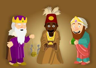 Les trois Roi Mages