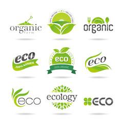 Ecology icon set. Eco-icons