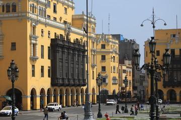 Lima historisches Stadtzentrum