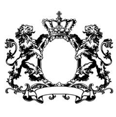 ライオンのエンブレム