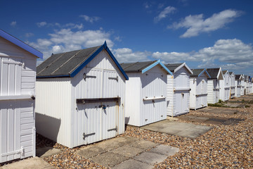 Goring Beach Huts