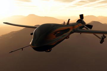 Predator Type Drone 3D artwork