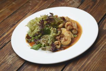 Salad of marine