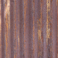 grunge rusty zinc background