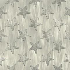 Stars. Metal pattern. Seamless texture.