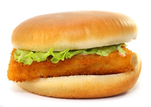 Fillet of fish sandwich