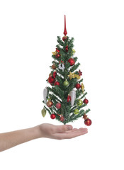 Christmas tree -Stock Image