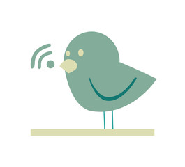 communication bird design