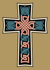 Celtic Medieval Cross