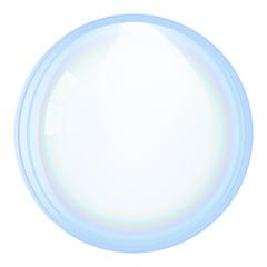 Vector soap bubble