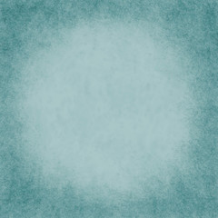 Square Teal Grunge Textured Background