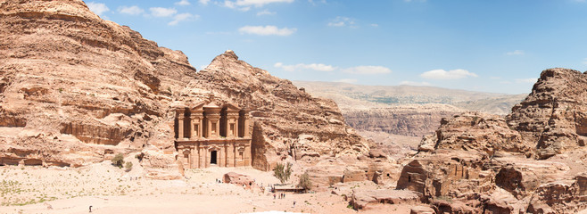 Canvas Prints Middle East The Monastarty, Petra, Jordan
