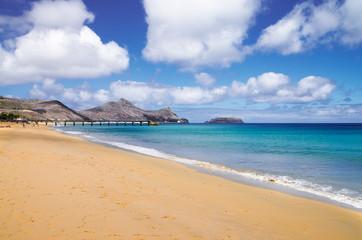 Porto Santo golden beach