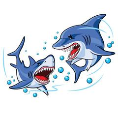 Sharks Cartoon