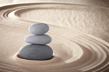 Foto op Plexiglas Stenen in het Zand spa zen meditation stones background