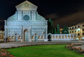 Fototapete - Basilica di Santa Maria Novella Florenz Italien