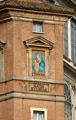 Rome, Maria and Jesus at the Apostolic Palace