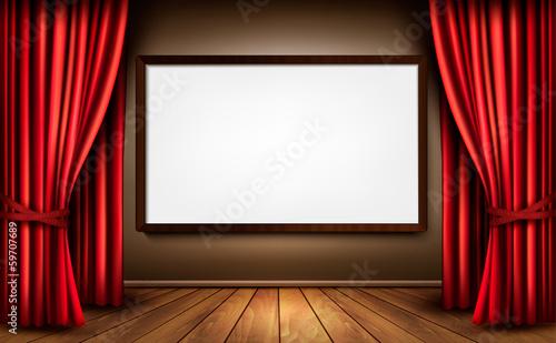 Curtain box