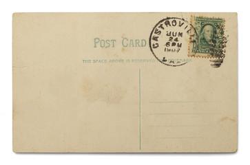 Stamped Postcard