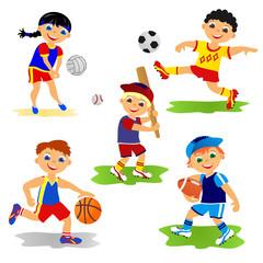 Set of team sport