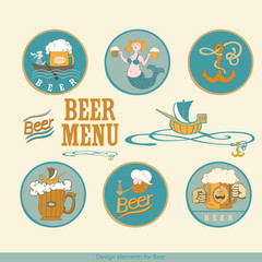 design elements for beer