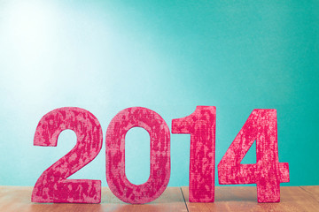 New Year greeting card background