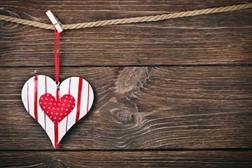decorative heart toy