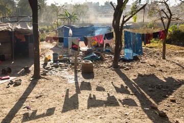 Slums in Kathmandu valley
