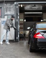 Autopflege mit der Dampflanze