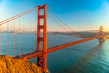 Golden Gate, San Francisco, California, USA. Wall mural