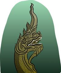 Thai Dragon vector