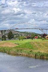 Brücke über die Glomma in Fredrikstad