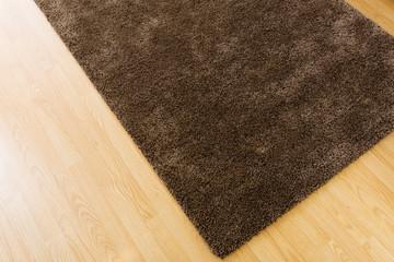 Brown carpet at home