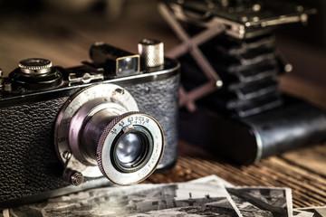 antiche macchine fotografiche