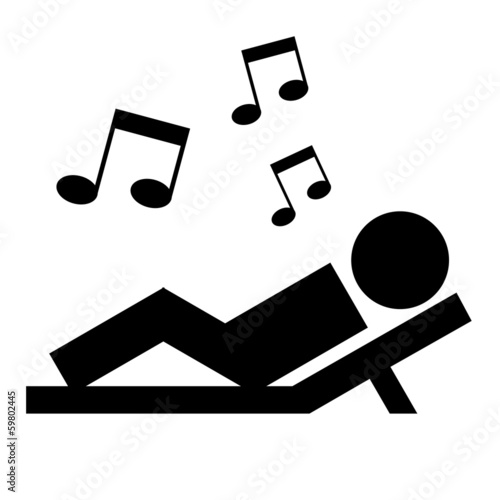 quot piktogramm entspannen quot  stockfotos und lizenzfreie vector musical notes png vector music note image