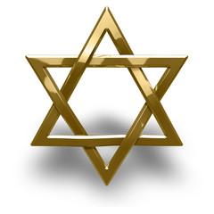 Judaism religious symbol - star of david