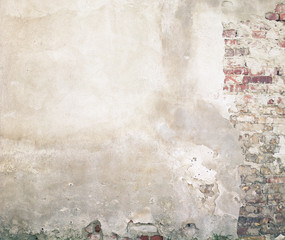Foto auf Leinwand Graffiti Wall texture