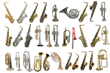 wind instrument Wall mural