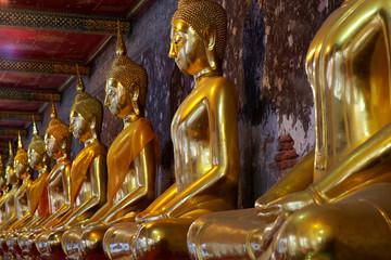 Buddhism statues c