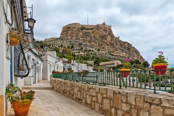 Santa Barbara Castle in Alicante, Spain