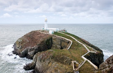 South Stack Lighthouse on Anglesey
