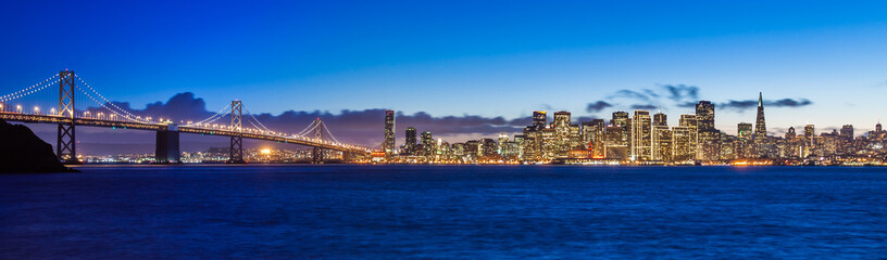 Bay Bridge and San Francisco