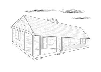House - vector illustration.
