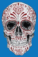 Realistic Day of the Dead Sugar Skull