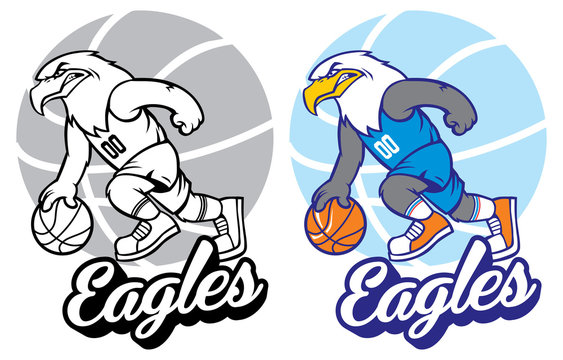 eagle basketball mascot