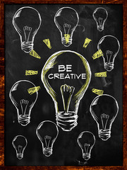 Be Creative Bulb Light