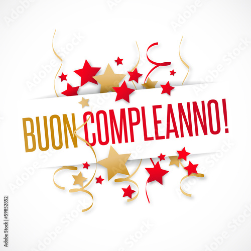 Buon Compleanno Stock Image And Royalty Free Vector Files On