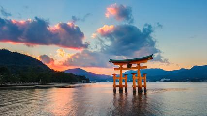 Great floating gate (O-Torii) at Miyajima