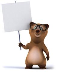 Papier Peint - Bear