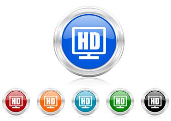 hd icon vector set